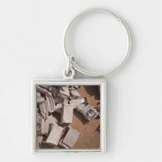 A pile of Meals Ready to Eat Keychain