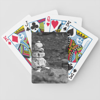 A pile of Rocks Deck Of Cards