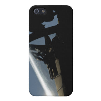 A pilot prepares for take-off iPhone SE/5/5s cover