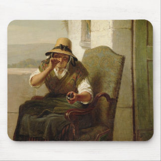 A Pinch of Snuff (oil on canvas) Mouse Pad