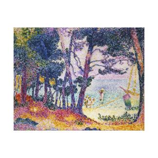 A Pine Grove, 1906 Canvas Print