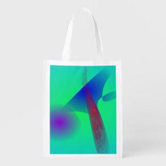 A Pine Tree Reusable Grocery Bag
