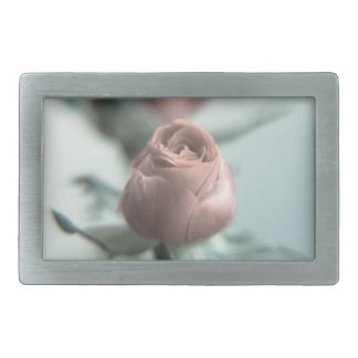 A Pink Rose for your Sweetheart... Rectangular Belt Buckle