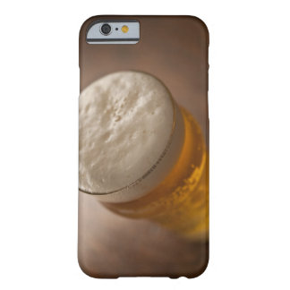 A pint of lager, back lir shallow focus rustic barely there iPhone 6 case