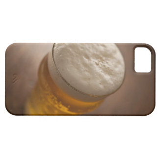 A pint of lager, back lir shallow focus rustic iPhone SE/5/5s case