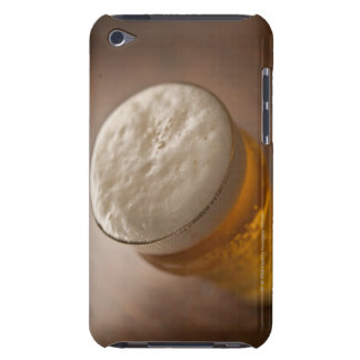 A pint of lager, back lir shallow focus rustic iPod touch Case-Mate case