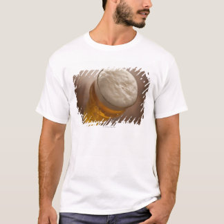 A pint of lager, back lir shallow focus rustic T-Shirt