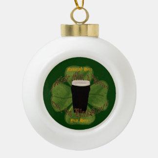 A Pint of the Black Stuff Ornament