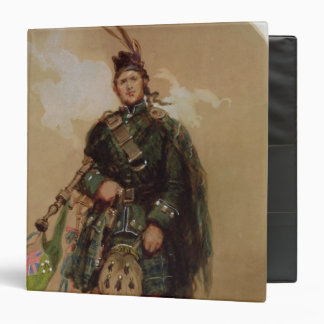 A Piper of the 79th Highlanders at Chobham Binder
