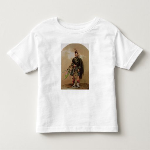 A Piper of the 79th Highlanders at Chobham Shirt