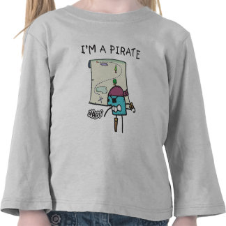 A Pirate Kids T-shirt