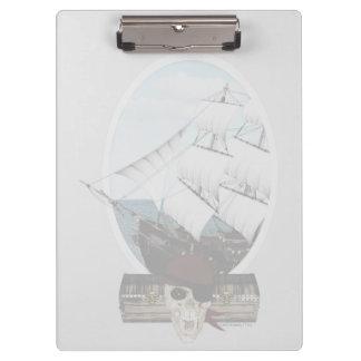 A Pirate Ship Clipboard