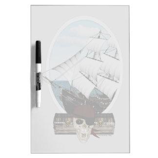 A Pirate Ship Dry-Erase Whiteboard