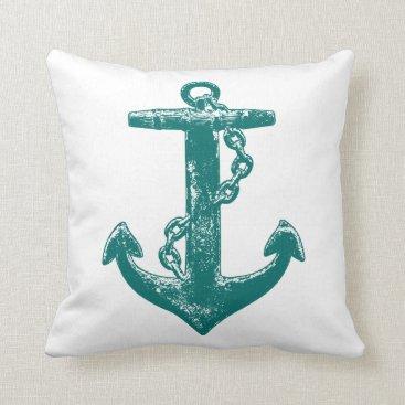 Beach Themed A Pirates Life anchordoublesidedpillow_1 Throw Pillow