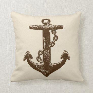 Beach Themed A Pirates Life anchordoublesidedpillow_2 Throw Pillow