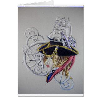 A pirates life card