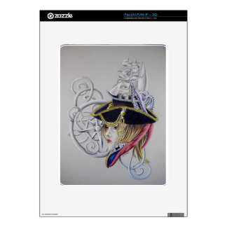 A pirates life decal for the iPad