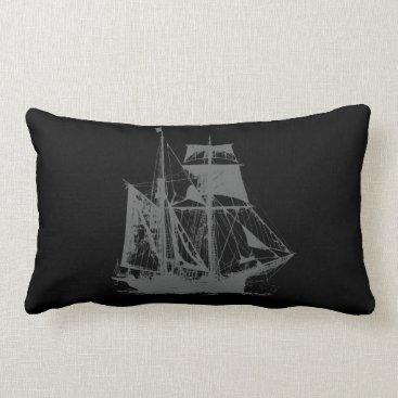Beach Themed A Pirates Life doublesidedshippillow_1 Lumbar Pillow