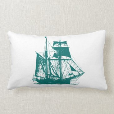 Beach Themed A Pirates Life doublesidedshippillow_2 Lumbar Pillow