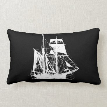 Beach Themed A Pirates Life doublesidedshippillow_4 Lumbar Pillow