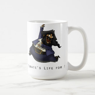 A Pirate's Life For Me Coffee Mug