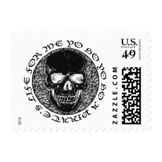 ...a pirate's life for me stamp