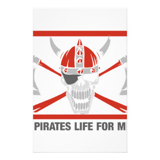A Pirates Life For Me Stationery