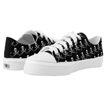 Beach Themed A Pirates Life skullshoes_1 Low-Top Sneakers