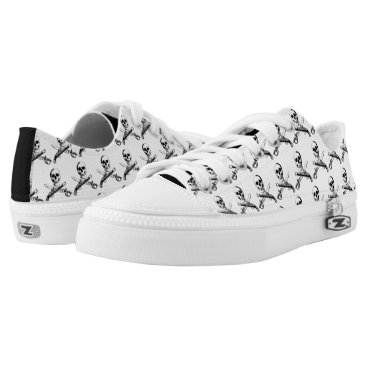 Beach Themed A Pirates Life skullshoes_3 Low-Top Sneakers