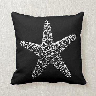 Beach Themed A Pirates Life starfishdoublesidedpillow_1 Throw Pillow