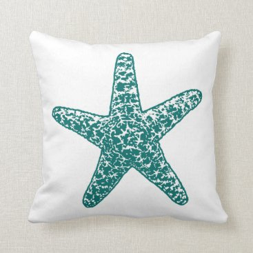 Beach Themed A Pirates Life starfishdoublesidedpillow_2 Throw Pillow