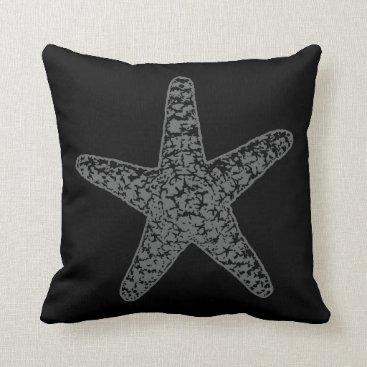 Beach Themed A Pirates Life starfishdoublesidedpillow_4 Throw Pillow