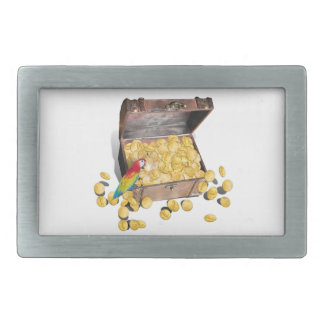 A Pirates Treasure Chest (Add Background Color) Belt Buckles