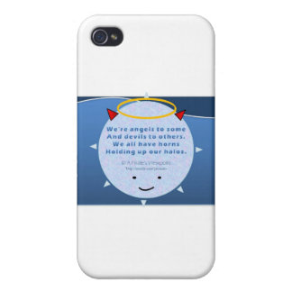 A Pirate's Viewpoint :: Angels and Devils iPhone 4 Case