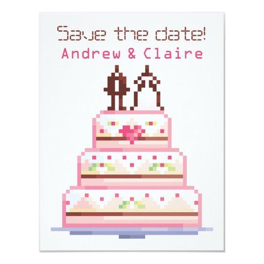 a pixel wedding ♥ card