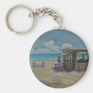 A Place I'd Rather Be Keychain