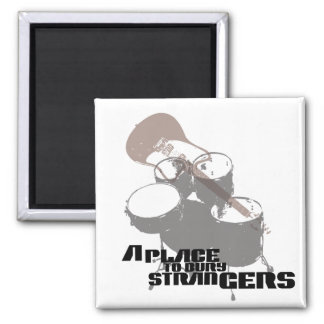 A Place to Bury Strangers Band Elements T Shirt 2 Inch Square Magnet