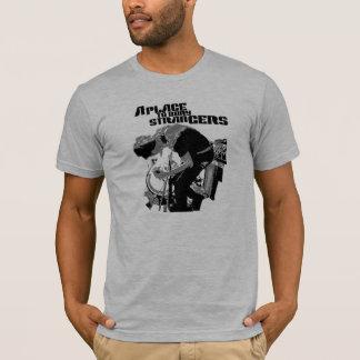 A Place to Bury Strangers Black Stranger T Shirt