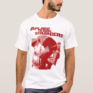 A Place to Bury Strangers Red Stranger T Shirt