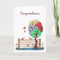 A Place to Hang your Heart, Congratulations Card