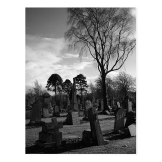 A Place to Rest - Gothic Collection Fine Art Photo Postcard