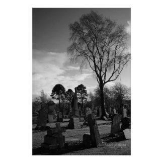 A Place to Rest - Gothic Collection Fine Art Photo Poster