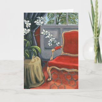'A Place To Think' Art Card card