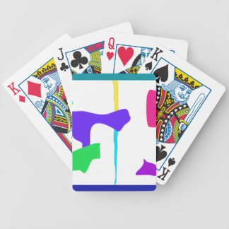 A Plain Sandwich Bicycle Playing Cards