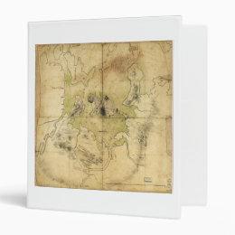 A Plan of Boston & Vicinity Map (1775) Binder