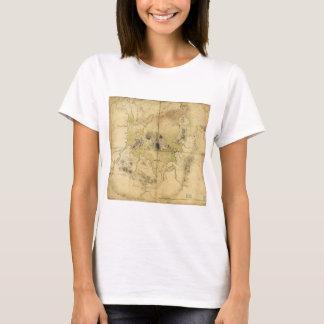 A Plan of Boston & Vicinity Map (1775) T-Shirt