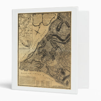 A Plan of the City of New York Map (1766) 3 Ring Binder