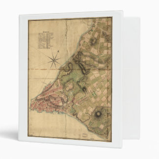 A Plan of the City of New York Map (1776) 3 Ring Binder
