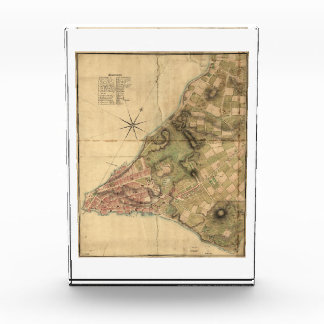 A Plan of the City of New York Map (1776) Acrylic Award
