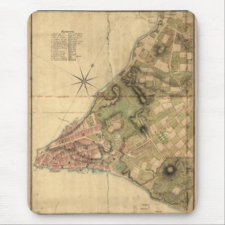 A Plan of the City of New York Map (1776) Mouse Pad